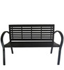 Metal Outdoor Bench by Suvika Lifestyles