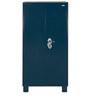 Metallic wardobe with EXS Lock & Safety Locker in Blue Colour by Godrej