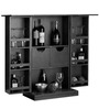 Calgary Bar Furniture in Espresso Walnut Finish by Woodsworth
