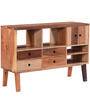 Kevon Sideboard with Reclaimed Wood in Natural Finish by Bohemiana