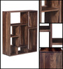Henderson Display Unit in Provincial Teak Finish by Woodsworth