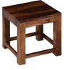 Colville Sheesham Wood Coffee Table Set in Provincial Teak Finish by Woodsworth