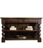 Egerton Console Table in Provincial Teak Finish by Amberville