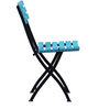 Mexico Folding Chair in Blue Color by Woodsworth