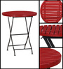 Mexico Folding Garden Set in Red Color by Woodsworth