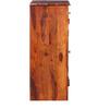 Milnes Shoe Rack in Honey Oak Finish by Amberville