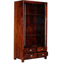 Colville Solid Wood Book Case in Honey Oak Finish by Woodsworth