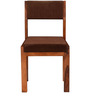 Colville Dining Chair in Honey Oak Finish by Woodsworth