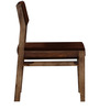 Elkhart Dining Chair in Provincial Teak Finish by Woodsworth