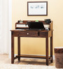 Codrington Study & Laptop Table in Provincial Teak Finish by Amberville