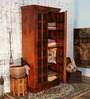 Lansdowne Wardrobe in Honey Oak Finish by Amberville