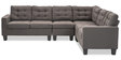 Miller Modular cum Sectional Sofa in Grey Colour by Durian