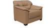 Mirly (3 + 1 + 1) Seater Sofa Set in Light Brown Colour by Home City