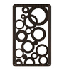 Migos Room Divider in Brown by Bohemiana