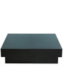 Milano Square Coffee Table in Wenge Finish by Forzza