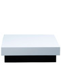 Milano Square Coffee Table in White Colour by Forzza