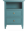Mini Dresser in Navy Blue Colour by Asian Arts