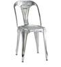 Bowen Metal Chair in Steel Grey Color by Bohemiana