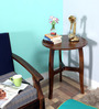 Renton End Table in Provincial Teak Finish by Woodsworth