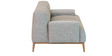 Molina Two Seater Sofa In Ash Grey Colour By CasaCraft