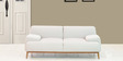 Molina Two Seater Sofa In Sandy Brown Colour By CasaCraft