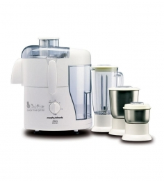 Morphy Richards Divo Essentials 3 Jars 500 W Juicer Mixer Grinder (White)