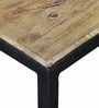 Questa Coffee Table in Metal with Wooden Top by Bohemiana