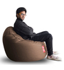 Modern Mooda Rocker (Cover Only) XXXL size in Chocolate Brown Color Colour  by Style Homez
