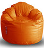 Modern Mooda Rocker XXXL size in Orange Color Colour with Beans by Style Homez