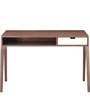 Modern Study Table with Flat Retro Inspired Leg Frame by AfyDecor