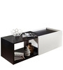 Modern Two Toned Coffee Table with Extra Storage Space by AfyDecor