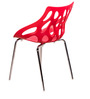 Mona Visitor Chair Red by Royal Oak