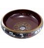 MonTero Brown Ceramic Basin