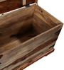 Baggott Trunk Box in Natural Finish by Amberville