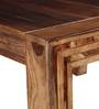 Montesano Eight Seater Dining Table in Provincial Teak Finish by Woodsworth
