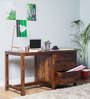 Winona Study & Laptop Table in Provincial Teak Finish by Woodsworth