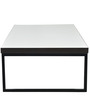 Monza Rectangular Coffee Table in White Colour by Forzza