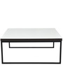 Monza Square Coffee Table in White by Forzza