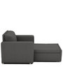 Morris One Seater Sofa Lounge in Royal Grey Colour by ARRA