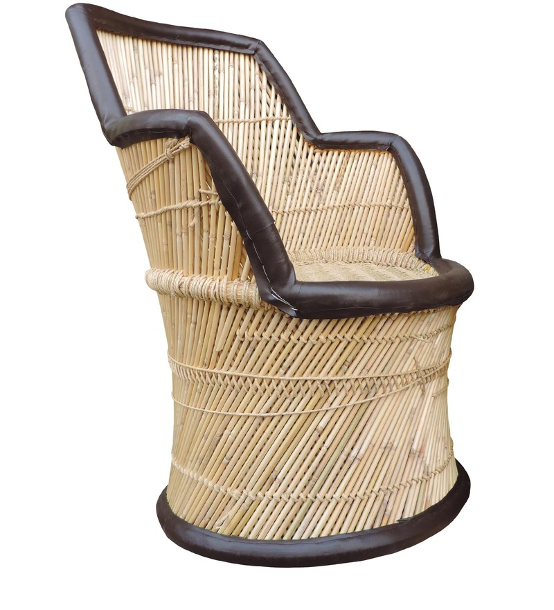 Buy Mudda Cane Chair In Multi Colour By Shinexus Online