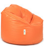 Mudda Chair Filled with Beansin Orange Colour by Can