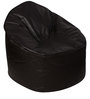 Muddha XXXL Sofa Bean Bag Cover without Beans in Brown Colour by Sattva