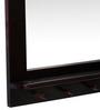Mudra Brown Sheesham Wood Rectangular Mirror
