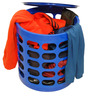 Multi Purpose Stool in Blue Colour by Casa Basic