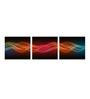 Multiple Frames colourful lines Art Panels like Painting - 3 Frames