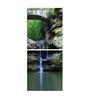 Multiple Frames Forest River Fall Art Panels like Painting - 2 Frames