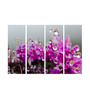 Multiple Frames pink flowers like Painting - 4 Frames