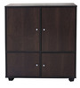 Multipurpose Storage Cabinet in Walnut Colour by Eros