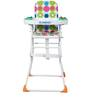 Muscial High Chair in Polka Colour by Sunbaby