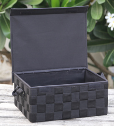 My Gift Booth Black 10 L Box With Lid